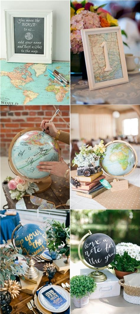 30 travel themed wedding ideas you ll want to deer pearl flowers