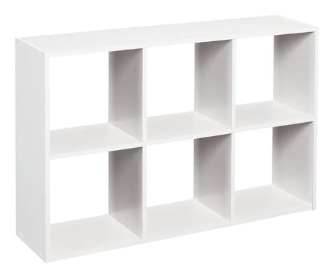 Closetmaid Cubeicals 6 closetmaid cubeicals 1578 mini 6 cube organizer white review
