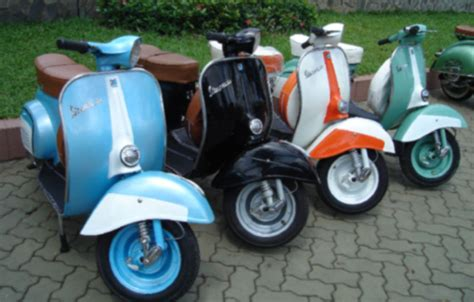 Modifikasi Motor Vespa You by Best Modification Motor Modifikasi Vespa Mini