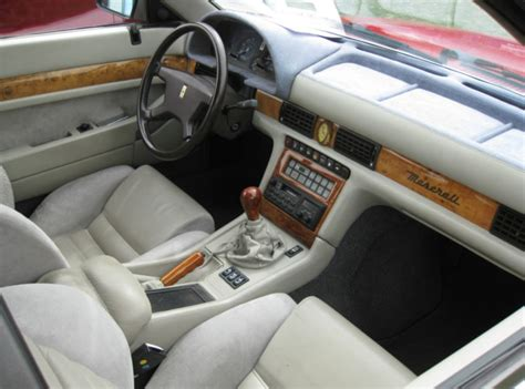 maserati biturbo interior 1989 maserati 430 classic italian cars for sale