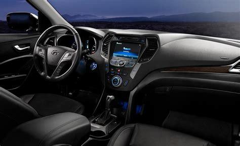 Hyundai Santa Fe Interior by Car And Driver