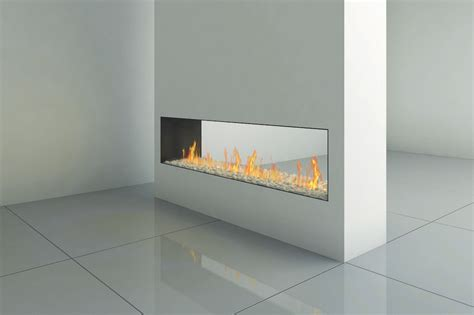 Tunnel Fireplace by Clear 170 Tunnel Fireplaces Ortal Heat