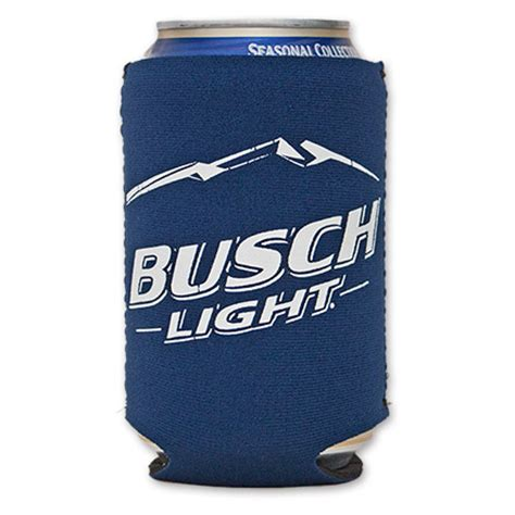 busch light gold can beer can coolers wearyourbeer com
