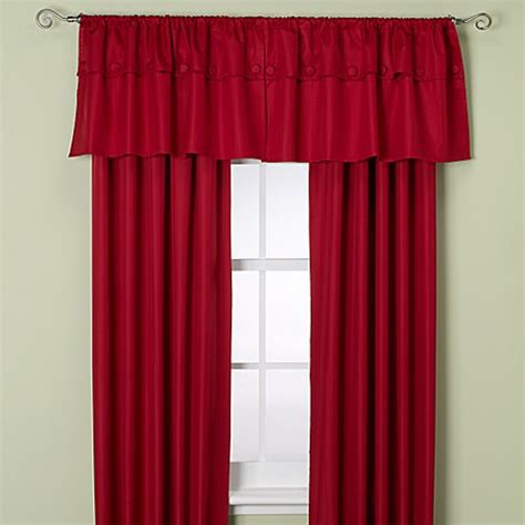 orlando curtains buy insola orlando 63 inch window curtain panel in chili
