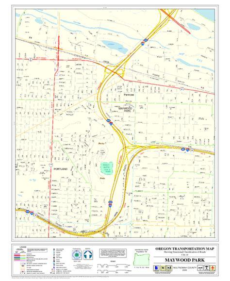 map of oregon pdf maywood park oregon road map maywood park oregon mappery