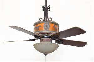 Western Ceiling Fans With Lights Cc Kvshr Lth Hs Lk310 Horses Western Leather Colored Ceiling Fan With Light Kit