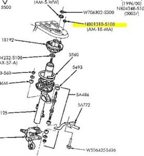 2002 ford taurus rear suspension diagram 2006 ford taurus rear suspension suspension problem 2006