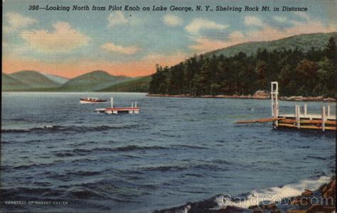 Pilot Knob Lake George by Looking From Pilot Knob On Lake George N Y