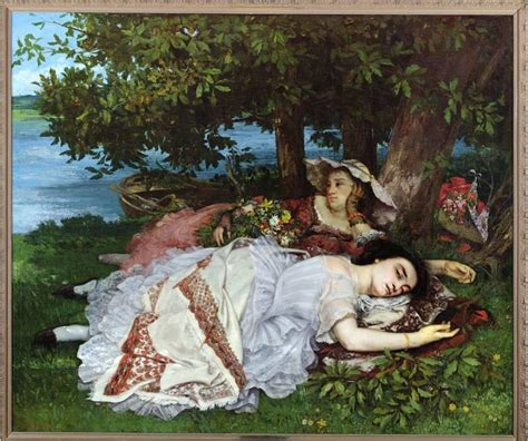 Courbet Sleepers by 263 Midterm At Vassar College Studyblue
