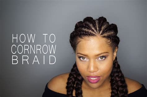 www hairstyles in how to cornrow or dutch braid your natural hair