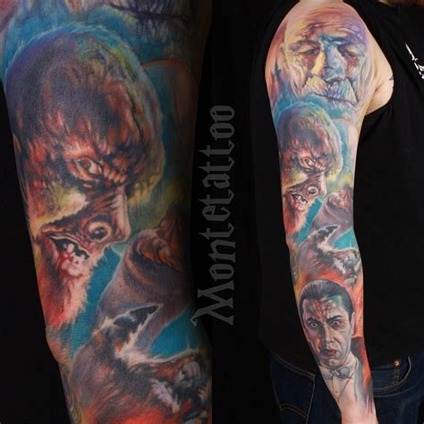 tattoo parlour universal studios montetattoo basil gogos armsleeve arm sleeve full color