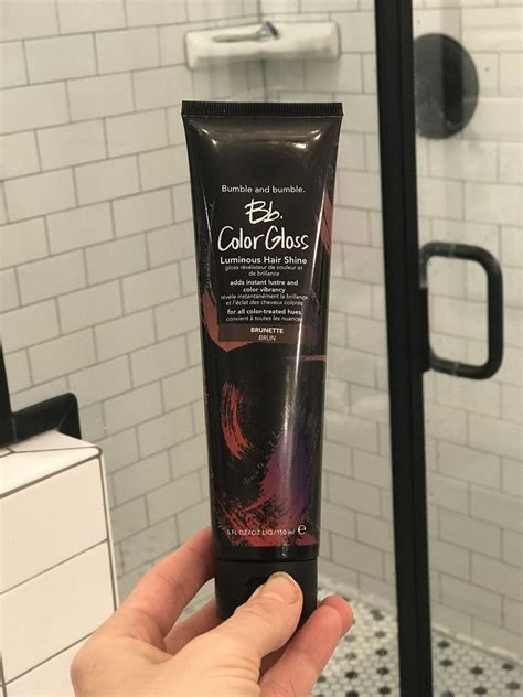 color gloss bumble and bumble bb color gloss review popsugar