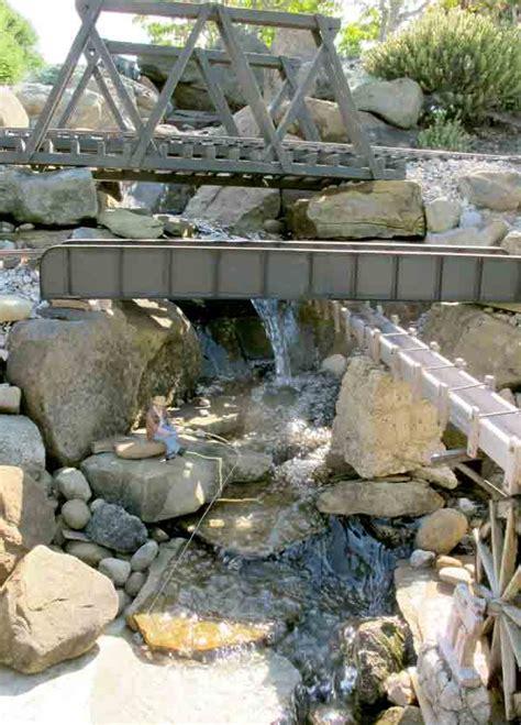 simple garden pond ideas pond and edging ideas garden railways magazine