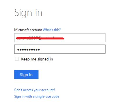 Microsoft Login Microsoft Login