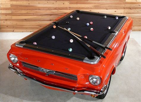 mustang pool table ford mustang pool tables nine driver s side pocket technabob