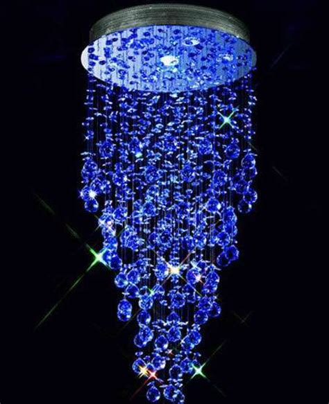 color changing chandelier led ceiling light