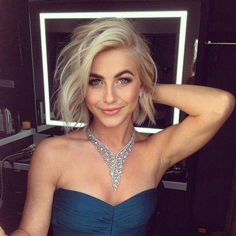 what is up with julianne forhead 28 times birthday girl julianne hough nailed the short do