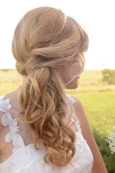 bridal hsirstyle back side hot side ponytail hairstyles 2016 wedding flower and girls