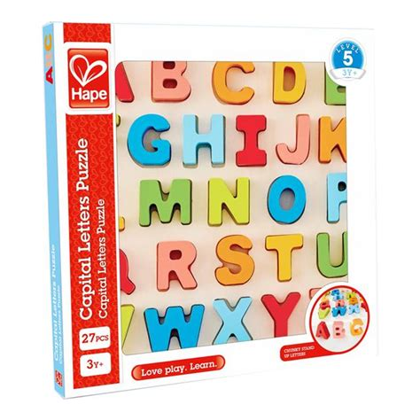Chunky Puzzle Alphabet by Hape Chunky Alphabet Puzzle