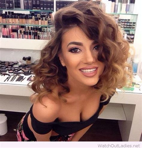 side curls hairstyles pinterest curly hairstyle with a deep side part hair pinterest