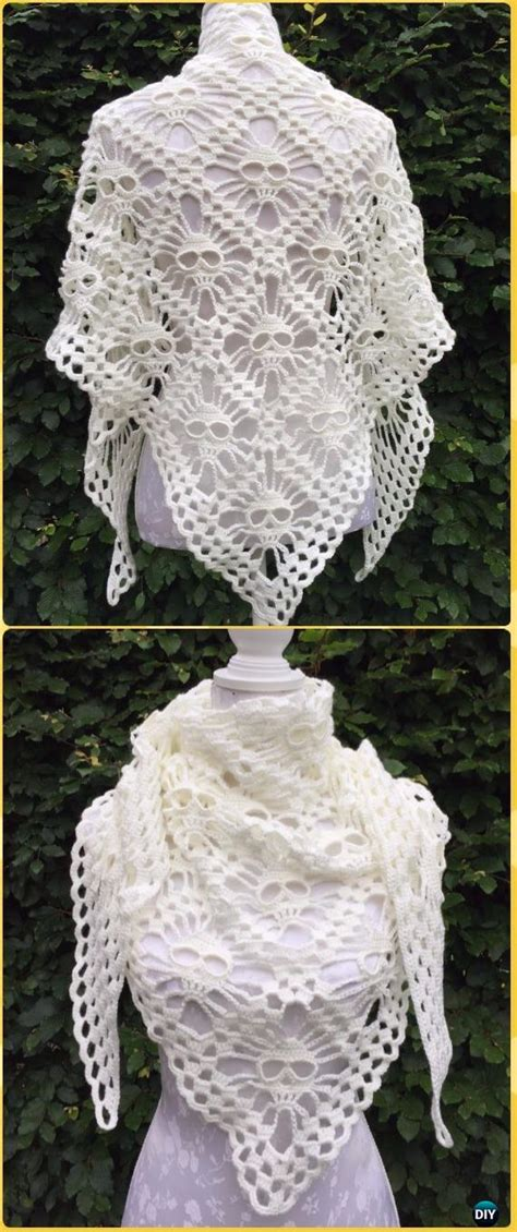 crochet women shawl outwear  patterns instructions
