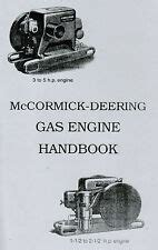 Mccormick Deering M 1 1 2 Hp Engine Not Hit And Miss Ebay