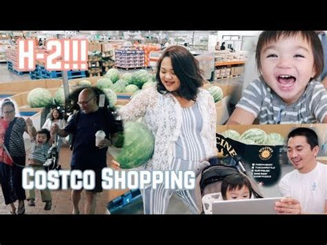 Shopping Dulu vlog 243 costco shopping dulu sebelum lahiran isi