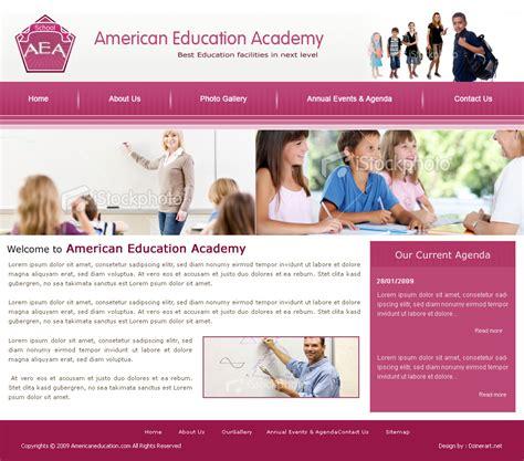 Pattern School Website   school website design by dzinerart images frompo
