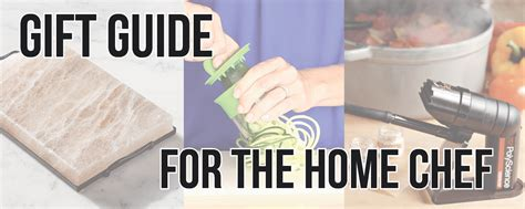 christmas gifts for home chefs gift guide for the home chef