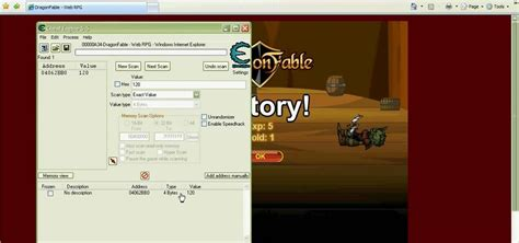 tutorial hack game java di pc how to hack the web game dragon fable using cheat engine