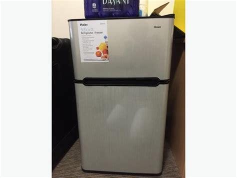 9 month 2 door haier mini fridge kelowna kelowna