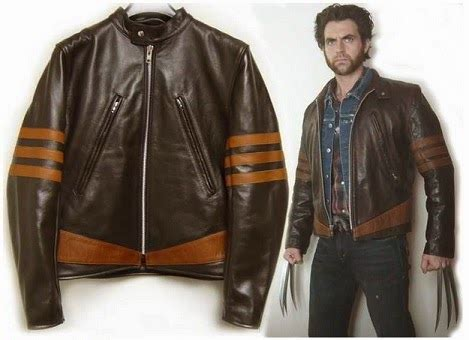Jual Jaket Anime Wolverine Leather jual jaket kulit wolverine logan jual jaket kulit