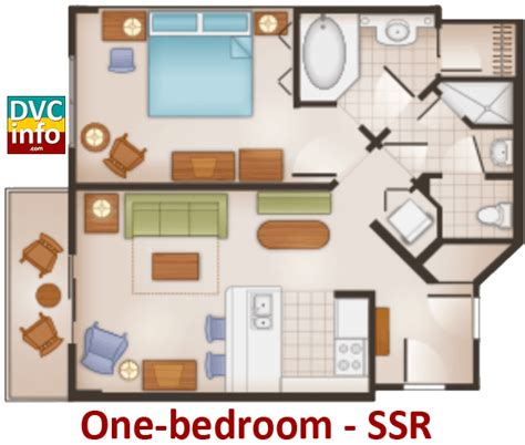 saratoga springs two bedroom villa floor plan disney s saratoga springs resort spa dvcinfo