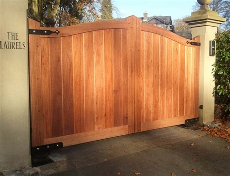 wooden designs main entrance gate design and material for enhancing your