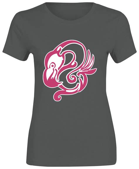 Flaminggo Shirt B 2522 flamingo bird tribal logo t shirt womens sleeve top lot ebay