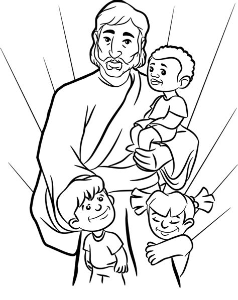 free coloring pages of jesus is my best friend