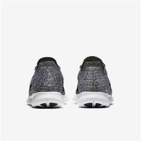 Jual Nike Free Run Black White Nike Free Rn Flyknit Jual