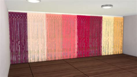 Hemp Curtain Panels From Doc by Enure Sims Macrame Curtains