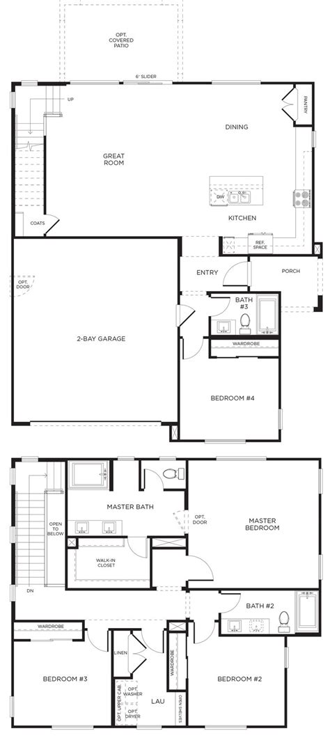 pardee homes floor plans 204 best images about inland empire pardee homes on