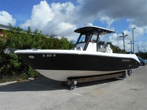 boats for sale naples fl 2015 everglades 255 cc 25 foot 2015 boat in naples fl
