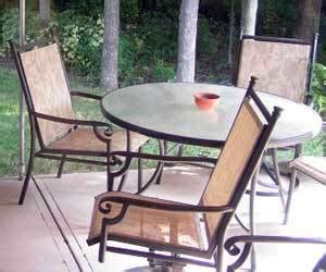 How To Clean Patio Chairs How To Clean Iron Patio Furniture