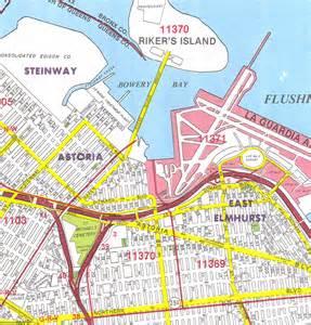 Map Of Queens New York by Queens Map