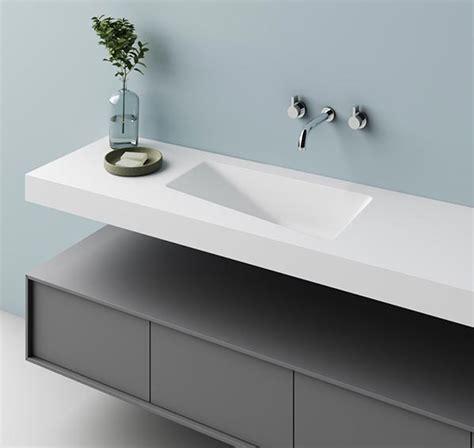 lavandini in corian lavabo in corian integrato nel top lavabo integrato nel