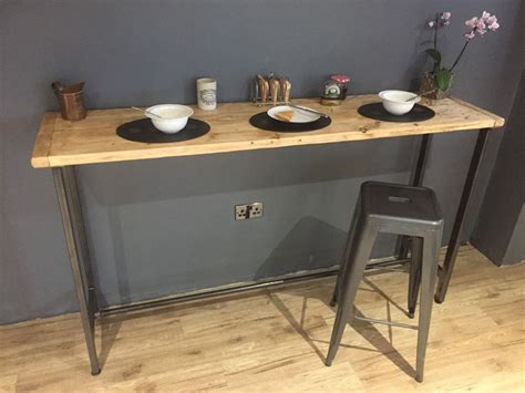 Breakfast Bar Table Breakfast Bar Table Bistro Table Poseur Table Reclaimed Wood Table Bespoke Ebay