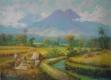 Painting For Sale From Jawa Barat West Java