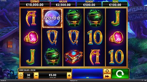 blue wizard slot  demo play   real money correct casinos