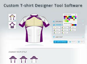 jersey design maker software custom t shirt design tool what s your style