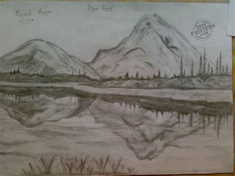 pencil sketch designs photos pencil sketches of sceneries beautiful scenery pencil sketch desipainters