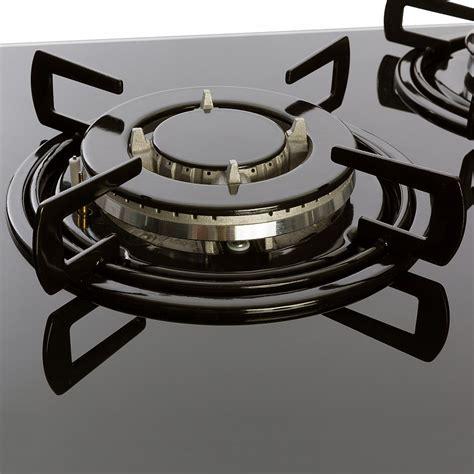 piano cottura 5 fuochi 70 cm piano cottura gas in vetro 5 fuochi in acciaio inox 70 cm