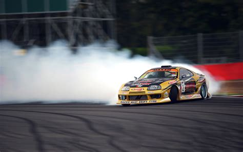 toyota supra drift toyota supra racing drift car wallpapers hd desktop